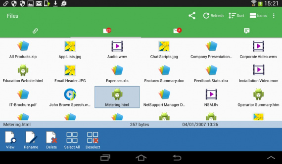 Client for Android alkalmazás - 01